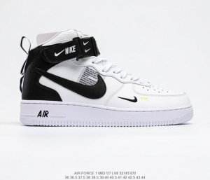 NIKE Air Force 1 Mid 07 LV8 sneaker white for man - 804609-103