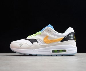 Nike Air Max 1 Daisy Pack Couple running shoes{Cw6031-100}